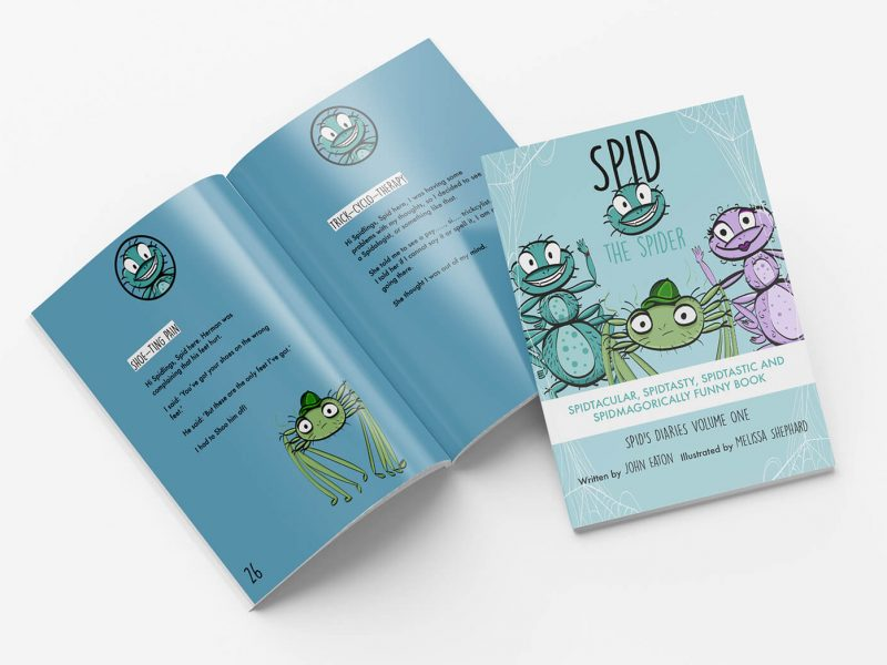 Spid the Spider joke book